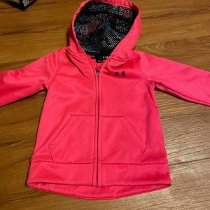 Under Armour I Girls Hot Pink Hoody 4t
